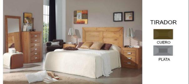 Dormitorio madera maciza envío gratis