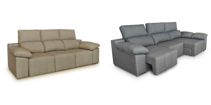 Cheslong y sof mil n con usb integrado tienda de for Sofas cheslong baratos