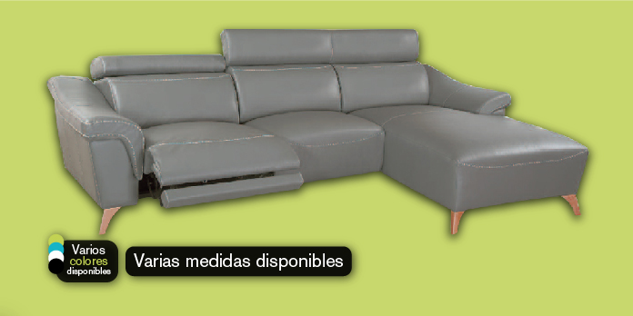 Chaiselongue con asiento motorizado