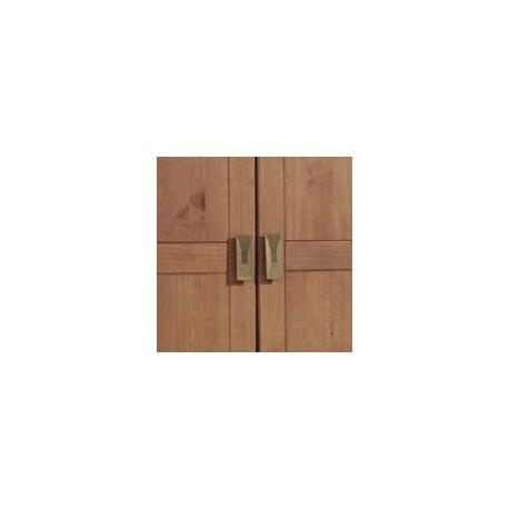 Armario 4 puertas madera Bahia