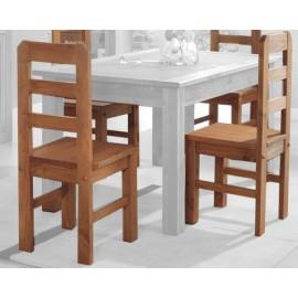 Juego 4 sillas madera Bahia