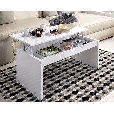 Mesa de centro elevable Side Blanco
