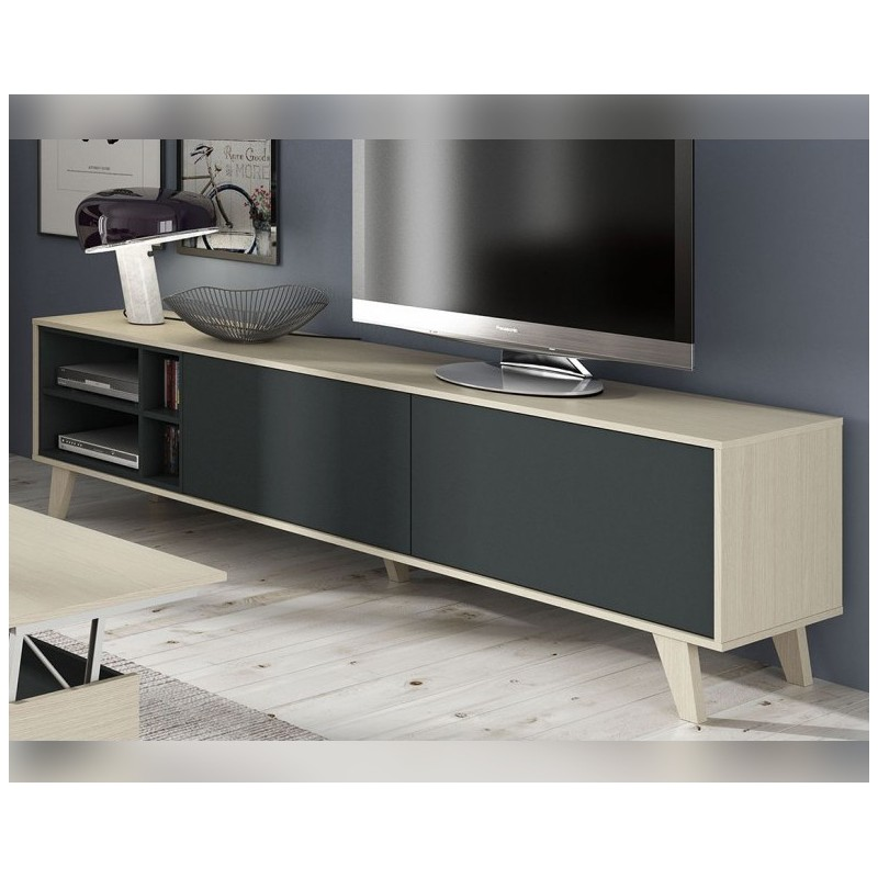 3f66e129004 Bajo TV 180cm. Nordic Grey