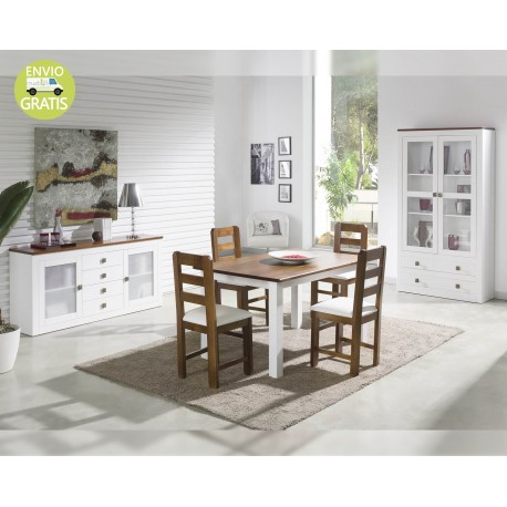 Comedor Boston Bicolor