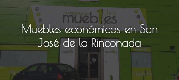 Tienda de muebles económicos en San José de la Rinconada